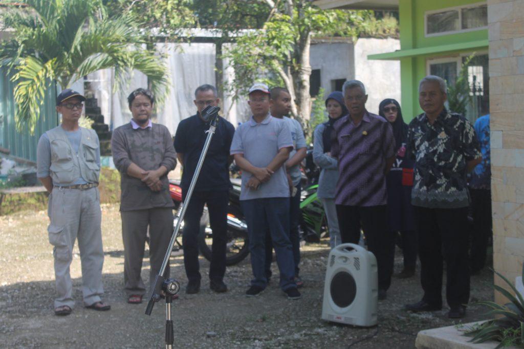 Penyambutan yang dilakukan pemerintah Kecamatan Kalipucang pada mahasiswa Sastra  Sunda Fakultas Ilmu Budaya Universitas Padjadjaran. photo by KA