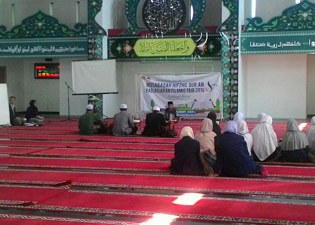 Peserta sedang mengikuti Lomba Musabaqah Hifzhil Qur'an dalam acara PIF 2016. Foto: NAgustin