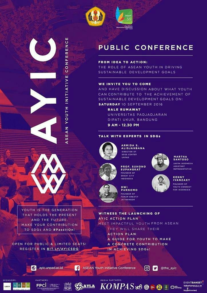 Poster Publikasi Acara AYIC