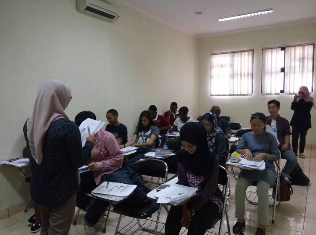 (Proses Belajar Mengajar BIPA Unpad) Foto: Dokumentasi Pribadi
